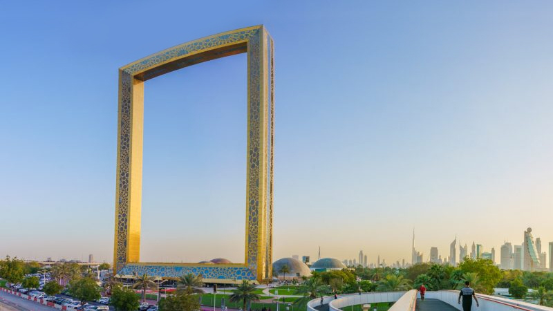 Features of Dubai frame
