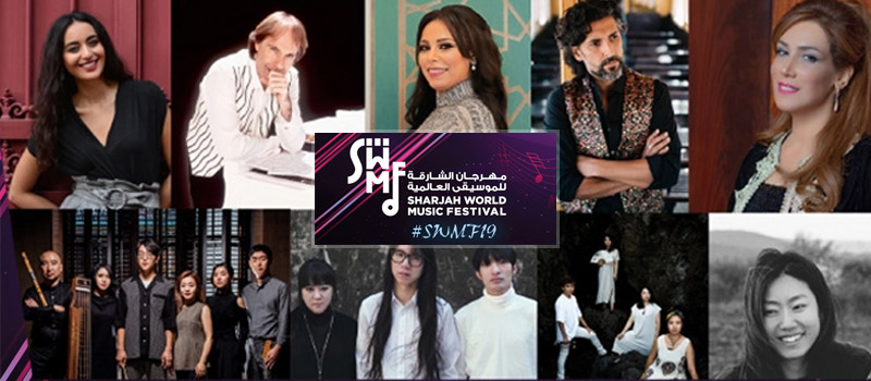 Schedule for Sharjah World Music Festival