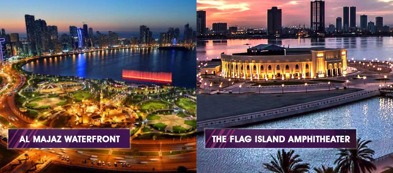 The venues of Sharjah Music Festival