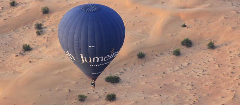 Go for a Hot-air Balloon Ride